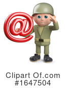 Soldier Clipart #1647504 by Steve Young