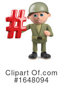 Soldier Clipart #1648094 by Steve Young