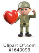 Soldier Clipart #1648098 by Steve Young