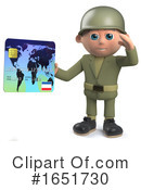 Soldier Clipart #1651730 by Steve Young
