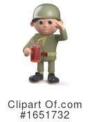 Soldier Clipart #1651732 by Steve Young