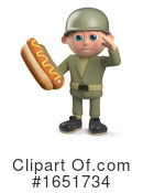 Soldier Clipart #1651734 by Steve Young