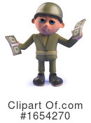 Soldier Clipart #1654270 by Steve Young