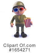 Soldier Clipart #1654271 by Steve Young