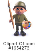 Soldier Clipart #1654273 by Steve Young