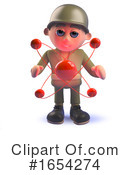 Soldier Clipart #1654274 by Steve Young