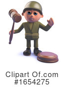 Soldier Clipart #1654275 by Steve Young