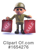 Soldier Clipart #1654276 by Steve Young