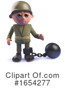 Soldier Clipart #1654277 by Steve Young