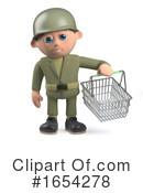 Soldier Clipart #1654278 by Steve Young