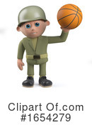 Soldier Clipart #1654279 by Steve Young