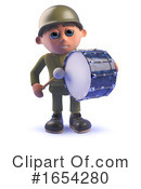 Soldier Clipart #1654280 by Steve Young