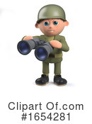 Soldier Clipart #1654281 by Steve Young