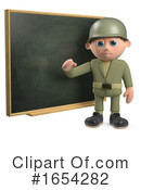 Soldier Clipart #1654282 by Steve Young