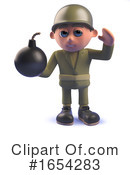 Soldier Clipart #1654283 by Steve Young