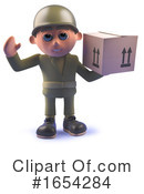 Soldier Clipart #1654284 by Steve Young