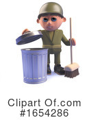 Soldier Clipart #1654286 by Steve Young