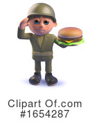 Soldier Clipart #1654287 by Steve Young