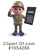 Soldier Clipart #1654288 by Steve Young