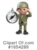 Soldier Clipart #1654289 by Steve Young
