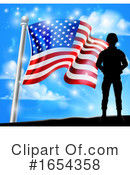 Soldier Clipart #1654358 by AtStockIllustration