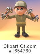 Soldier Clipart #1654760 by Steve Young