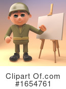 Soldier Clipart #1654761 by Steve Young