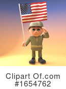 Soldier Clipart #1654762 by Steve Young