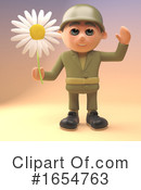 Soldier Clipart #1654763 by Steve Young