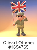 Soldier Clipart #1654765 by Steve Young