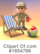 Soldier Clipart #1654766 by Steve Young