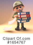 Soldier Clipart #1654767 by Steve Young