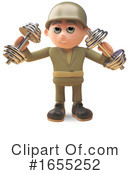 Soldier Clipart #1655252 by Steve Young