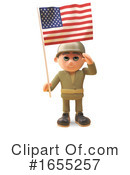 Soldier Clipart #1655257 by Steve Young