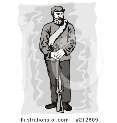 Confederate Soldier Clipart #212809 by patrimonio