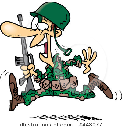 Soldier Clipart #443077 by toonaday