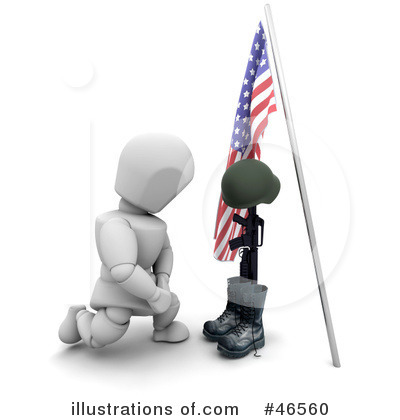Memorial Day Clipart #46560 by KJ Pargeter