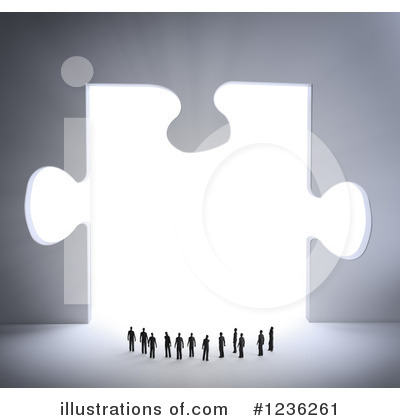 Puzzle Clipart #1236261 by Mopic