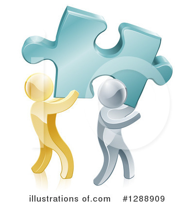 Puzzle Clipart #1288909 by AtStockIllustration