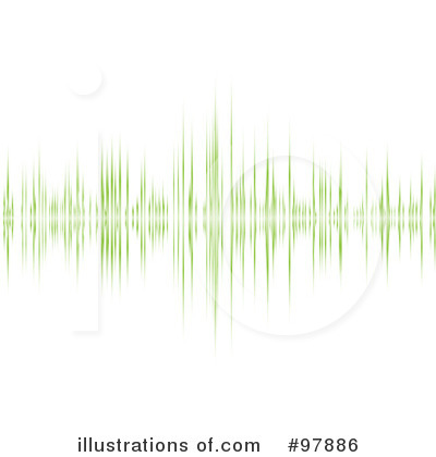 Sound Wave Clipart #97886 - Illustration by michaeltravers