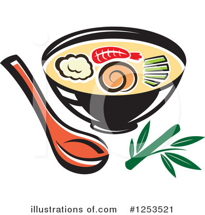 Japanese Food Clipart #1253521 by Vector Tradition SM