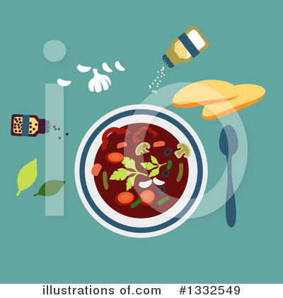 Vegetarian Clipart #1332549 by Vector Tradition SM