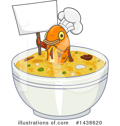 Chef Fish Clipart #1438620 by BNP Design Studio