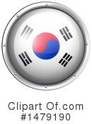 South Korean Flag Clipart #1479190 by Graphics RF