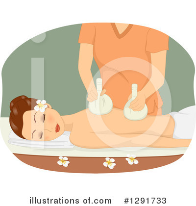 Massage Clipart #1291733 by BNP Design Studio