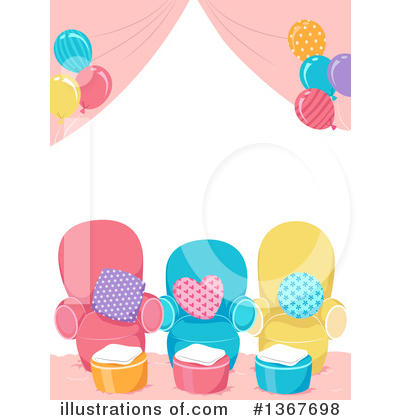 Party Balloons Clipart #1367698 by BNP Design Studio