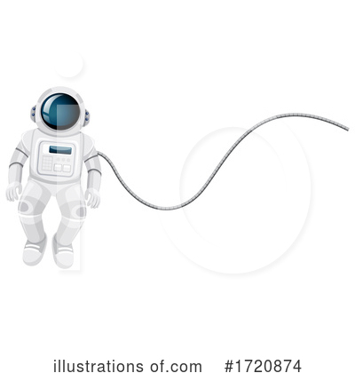 Astronaut Clipart #1720874 by Graphics RF