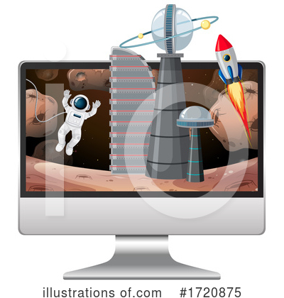 Astronaut Clipart #1720875 by Graphics RF