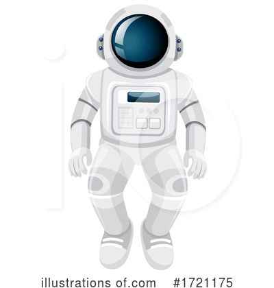 Astronaut Clipart #1721175 by Graphics RF