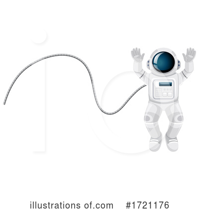 Astronaut Clipart #1721176 by Graphics RF